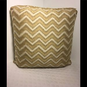 Other - Large Accent Pillow with zippered Cover